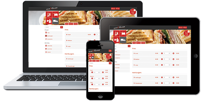 De one2three app is beschikbaar voor laptop, tablet & smartphone