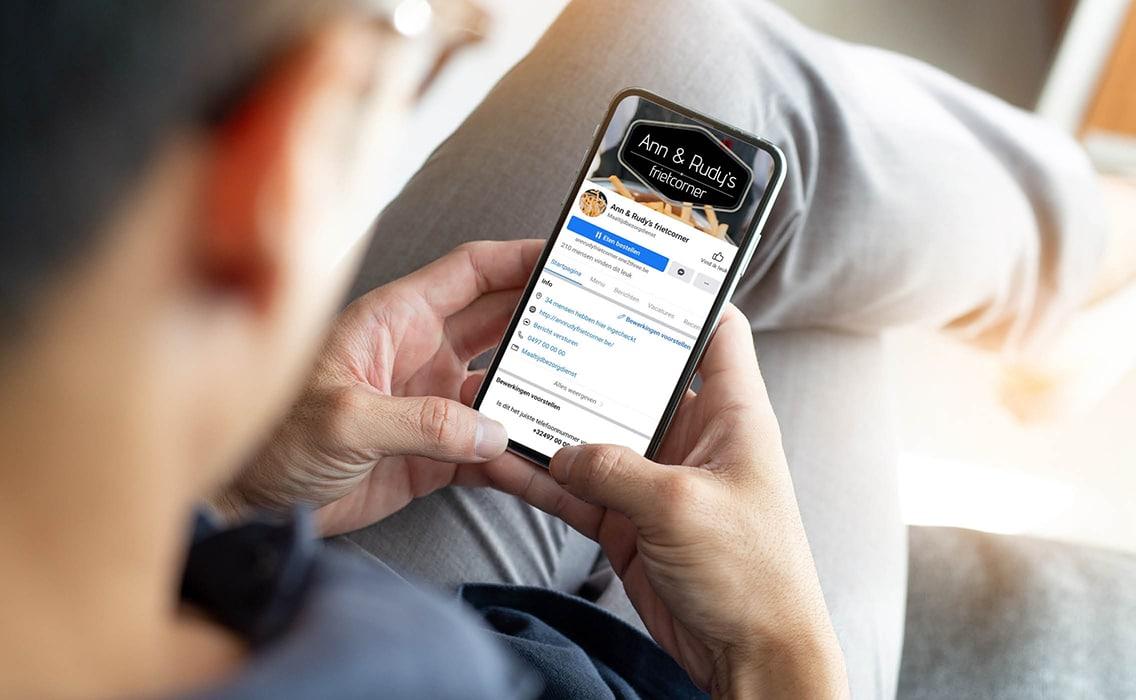 Bestellen met de smartphone